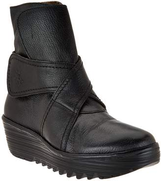 Fly London Leather Boots - Rada