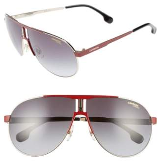 Carrera Eyewear 66mm Aviator Sunglasses