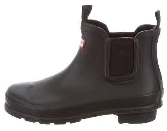 Hunter Kids' Rubber Round-Toe Boots