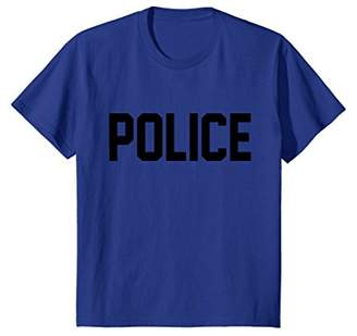 Police T-Shirt for Halloween Costume