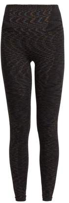 Lndr - Resistance Seamless Leggings - Womens - Dark Grey