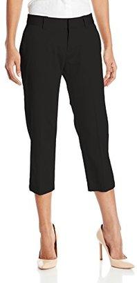 Dockers Women's Detail Pocket Stretch Capri Pant $36 thestylecure.com