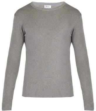 Schiesser Long Sleeved Cotton Jersey Pyjama Top - Mens - Grey