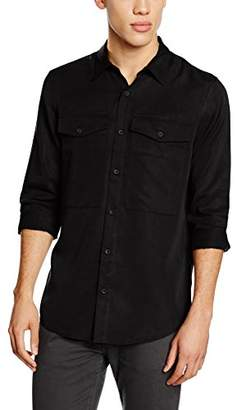 New Look Men's 3832650 Slim Fit|#2 Long Sleeve Casual Shirts,Medium