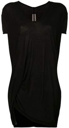 Rick Owens asymmetric oversized T-shirt