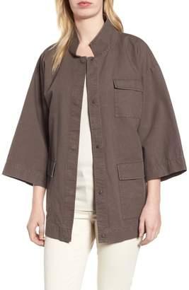 Eileen Fisher Organic Cotton & Hemp Jacket