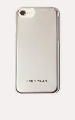 Karen Millen Metallic Phone Case