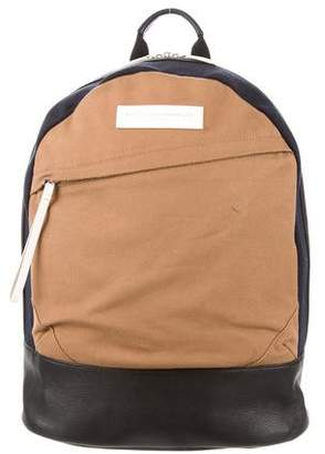 WANT Les Essentiels Organic Leather-Trimmed Backpack