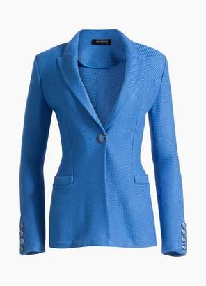 St. John Sarga Knit Twill Jacket
