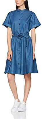 PepaLoves Women's Priscila Denim Casual Dress,8 (Manufacturer's Size:X-Small)