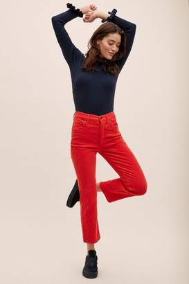 Anthropologie Agolde Riley High-Rise Straight-Leg Jeans