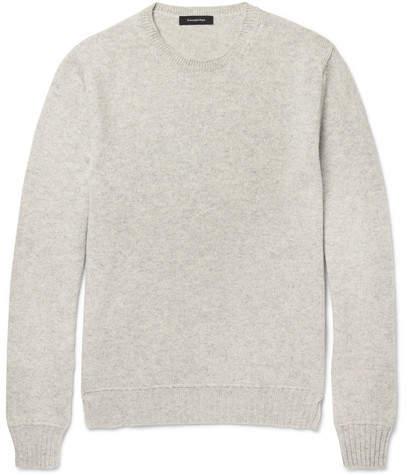 Ermenegildo Zegna Mélange Cashmere Sweater