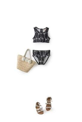 Country Road Palm Tree Bikini
