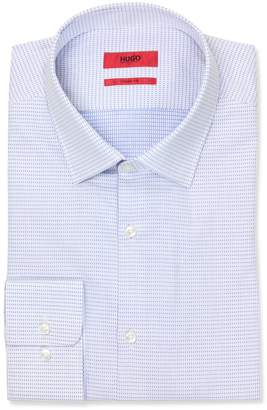 HUGO BOSS HUGO by Men's Hugo Sharp Fit Dress Shirt with Modified Point Collar