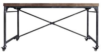 Modern Home Mariella Industrial Dining Table Pine
