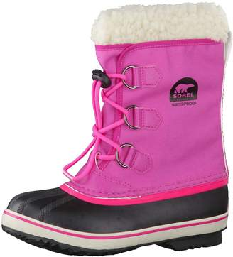 Sorel Girls' Yoot Pac Nylon Waterproof Winter Boot 5 M US