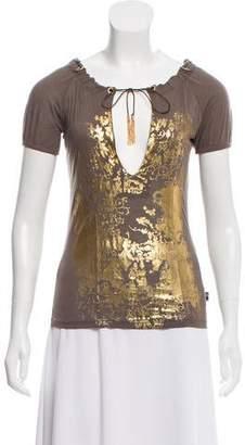 Jean Paul Gaultier Printed Short Sleeve Top