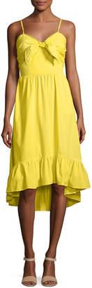 Joie Clorinda Ruffle-Hem High-Low Cotton Sun Dress