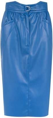 Framed Tulip midi skirt