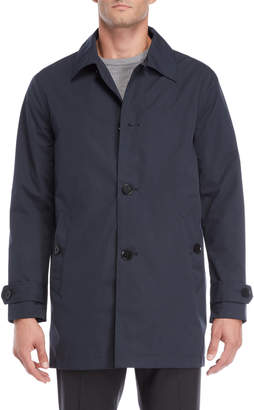 Cole Haan Button Rain Coat