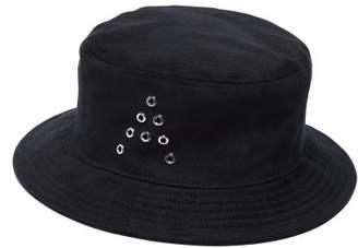 Acne Studios Buk A Cotton Twill Bucket Hat - Mens - Black