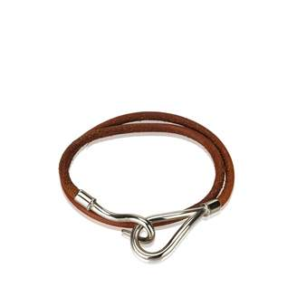 Hermes Jumbo leather bracelet