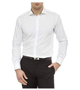 Geoffrey Beene Penn Twill Super Slim Fit Shirt