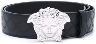 Versace 'Palazzo Medusa' Greca detail belt