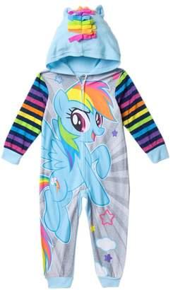 My Little Pony AME Rainbow Dash Hooded Fleece Sleeper (Little Girls & Big Girls)