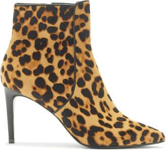 Rachel Zoe Morgan Leopard-Print Calf Hair Ankle Boots