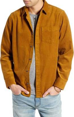 Treasure & Bond Regular Fit Corduroy Shirt Jacket
