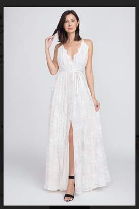 Minuet White Lace Gown