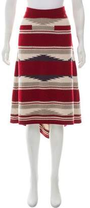 Chanel Paris-Dallas Cashmere Skirt