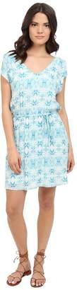 BB Dakota Zoya Grotto Printed Rayon Twill Dress Women's Dress