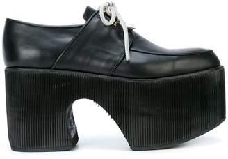 Charles Jeffrey Loverboy platform lace-up loafers