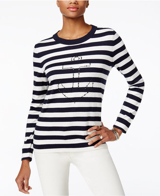 Tommy Hilfiger Whimsy Graphic Sweater $79.50 thestylecure.com