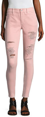 A.N.A Destructed Skinny Denim Ankle