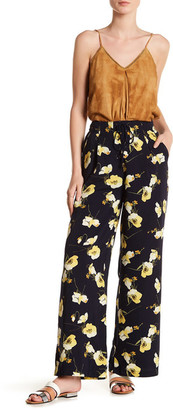 Moon River Floral Lace-Up Palazzo Pant $87.50 thestylecure.com