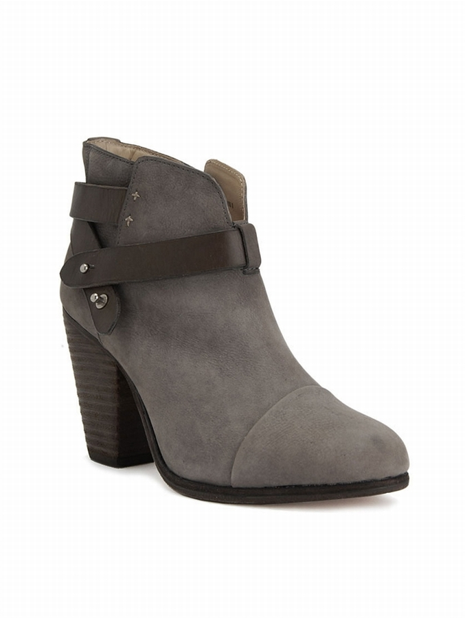 RAG & BONE Harrow Ankle Bootie In Grey