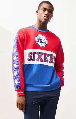 Mitchell & Ness Philadelphia 76ers Crew Neck Sweatshirt