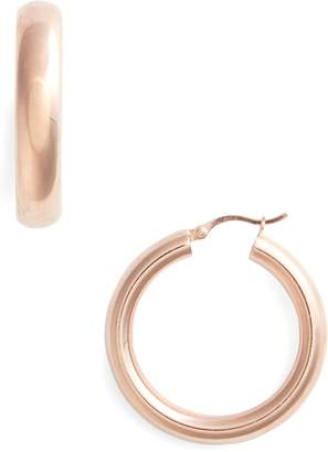 Argentovivo Small Hoop Earrings