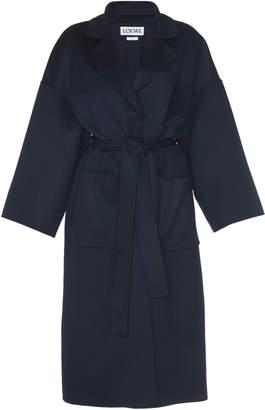 Loewe Belted Wool Coat