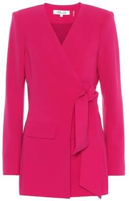 Diane von Furstenberg Crêpe jacket