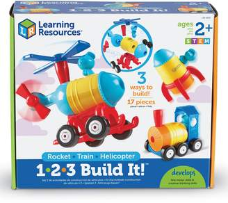 Learning Resources 1-2-3 Build It(TM) Rocket/Train/Helicopter Building Kit