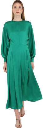 Nina Ricci SATIN MIDI DRESS