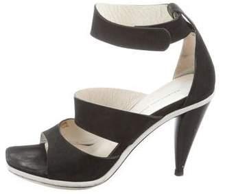Balenciaga Suede High-Heel Sandals