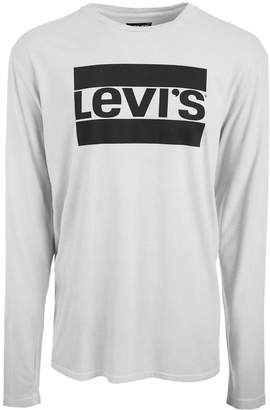 Levi's Men's Graphic-Print Long Sleeved T-Shirt