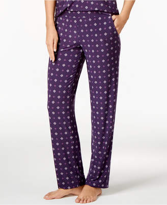 Alfani Printed Knit Pajama Pants