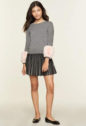 Milly Minis MillyMilly Faux Fur Pullover