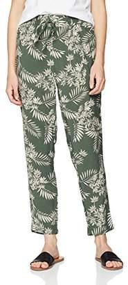 New Look Women's 5740918 Trousers, (Green Pattern), 8